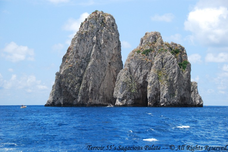 Cruising The Mediterranean - Faraglioni