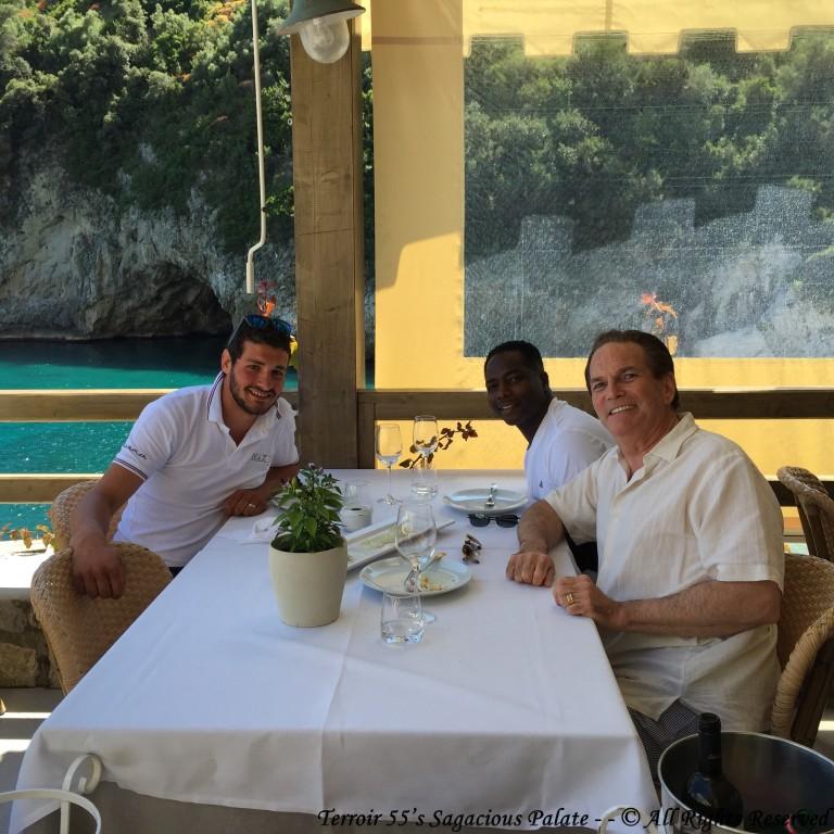 Ristorante Conca Del Sogno - with Diego and Tony