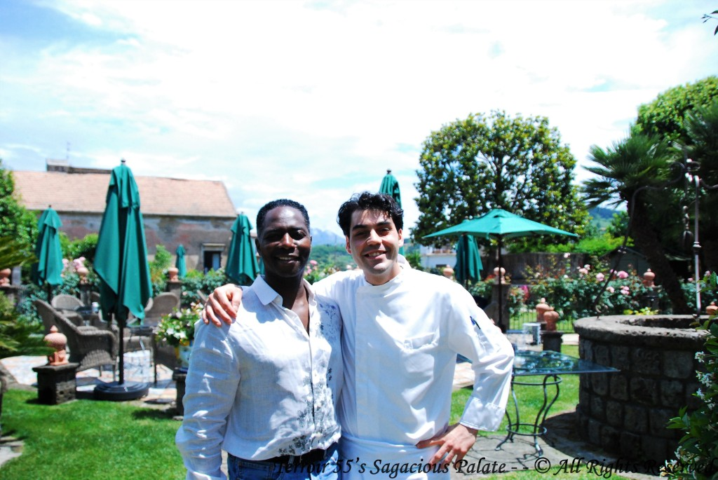 With Nicola Pignatelli, Sous-Chef