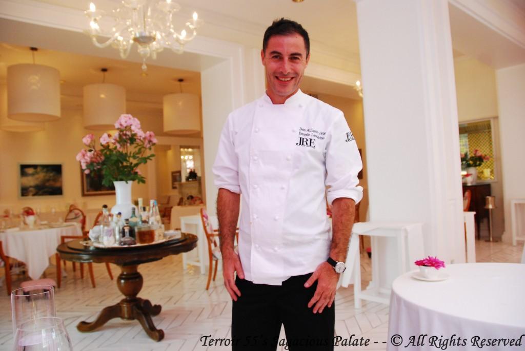 Chef Ernesto Iaccarino