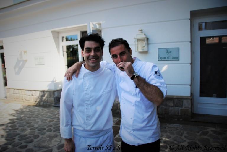 Nicola & Chef Ernesto