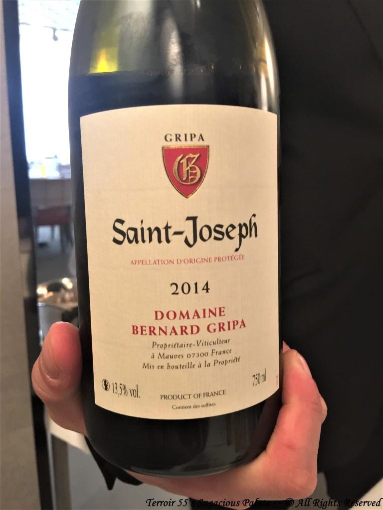 Saint-Joseph 2014 - Domaine Bernard Gripa