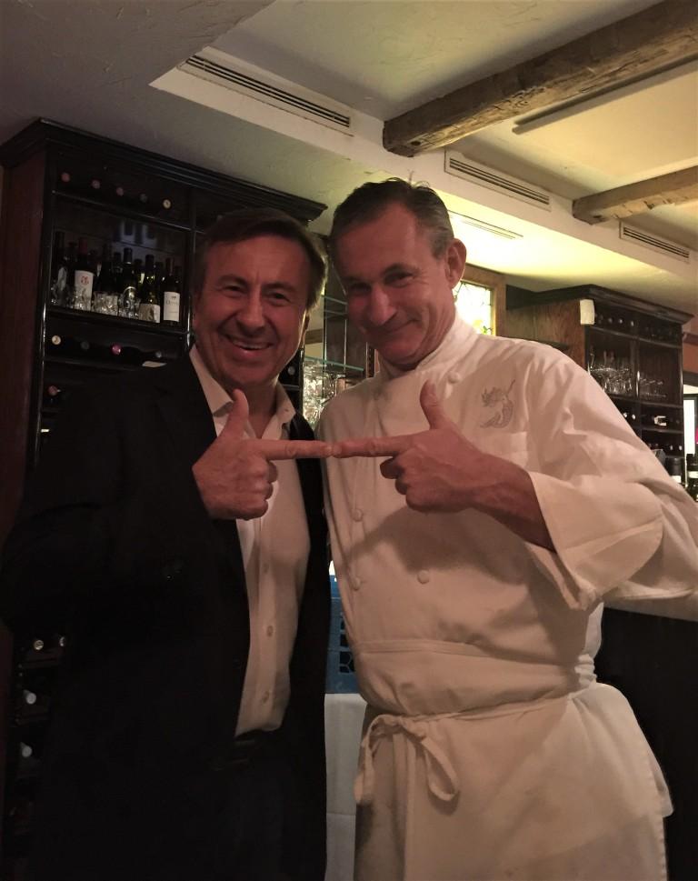 Chef Daniel and Chef Marcello