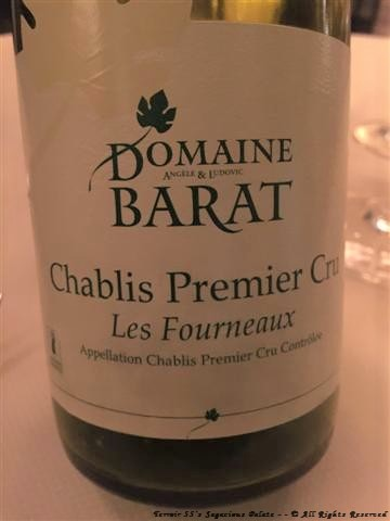 "Domaine Barat Chablis 1er Cru ""Fourneaux,"" 2014"