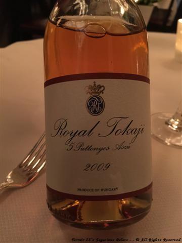 """Royal Tokaji Company Tokaji Aszú """"5 Puttonyos,"""" Hungary 2009"""