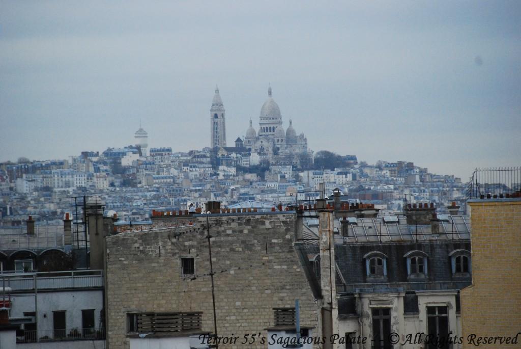 Montmartre, the Basilica of the Sacré Cœur