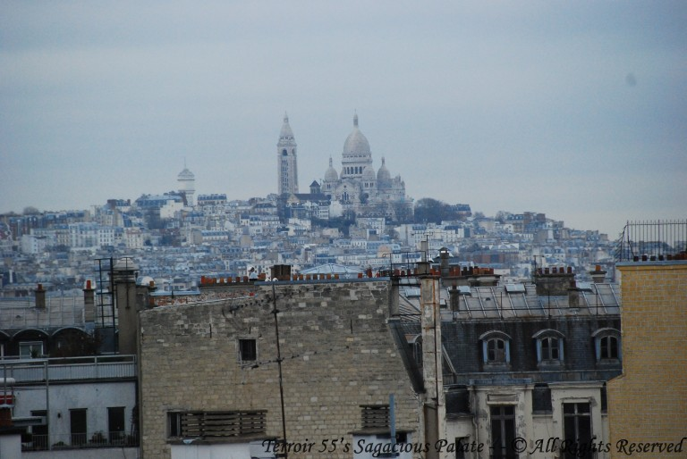 Montmartre, the Basilica of the Sacré Cœur
