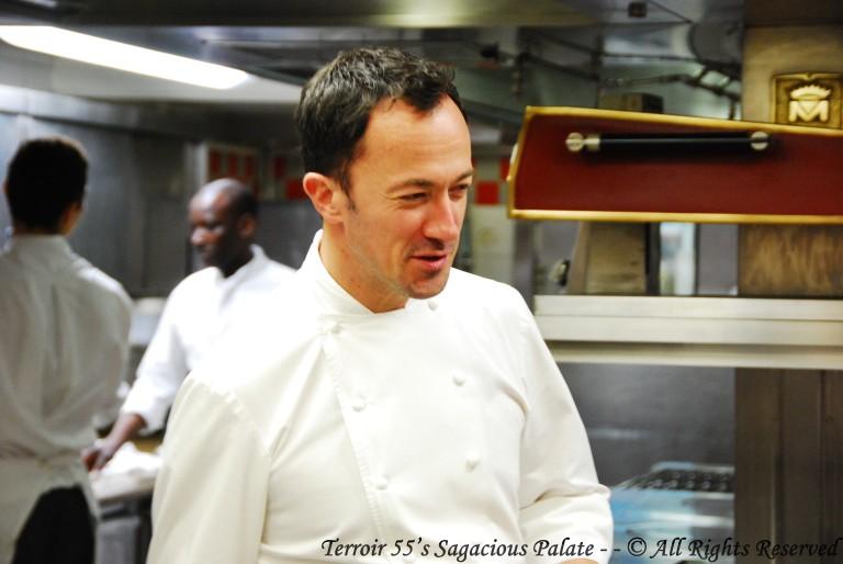 Head Chef Romain Meder