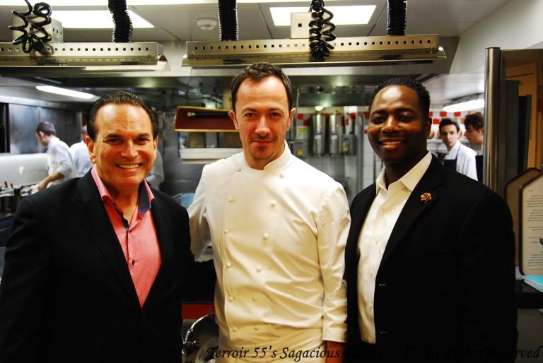 With Tony & Chef Romain Meder