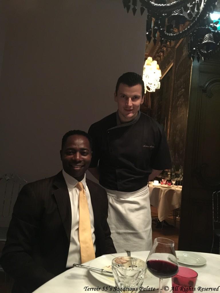 With Chef Mathieu Mécheri