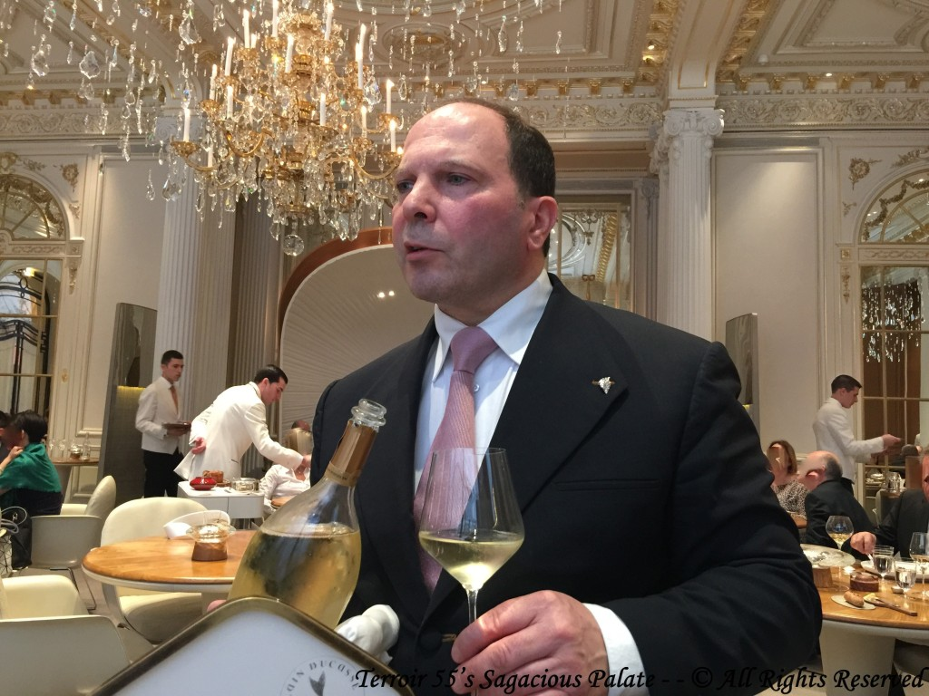 Chef Sommelier Laurent Roucayrol