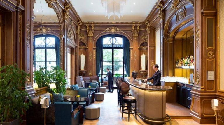 © Le Bar Kléber – – Courtesy of The Peninsula, Paris