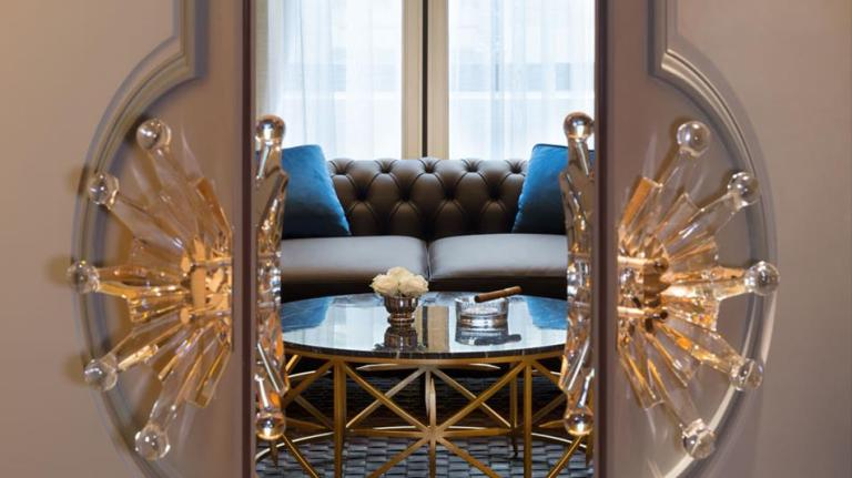 © Le Lounge Kléber, Cigar Lounge – – Courtesy of The Peninsula, Paris