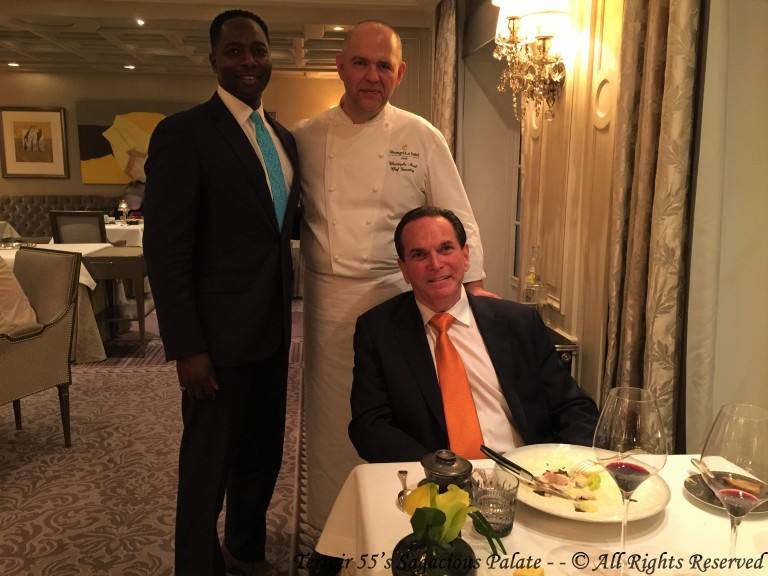 With Chef Moret & Tony