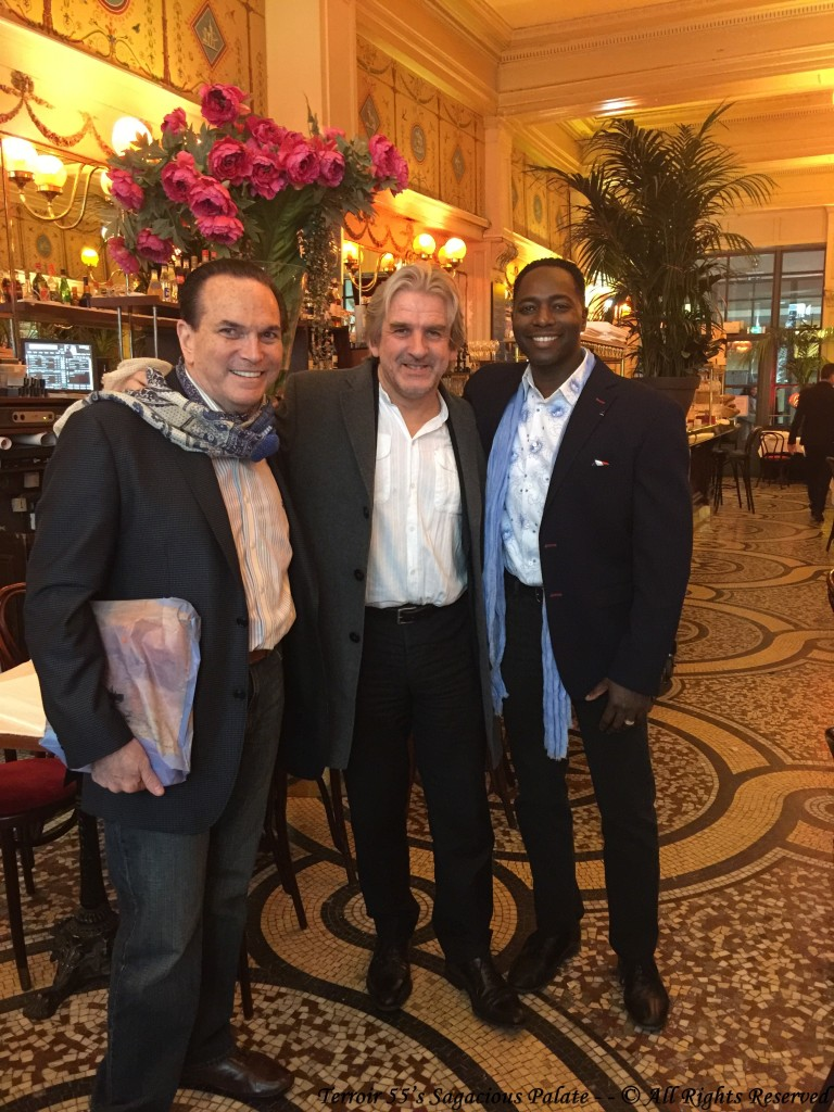 With Tony and Barry