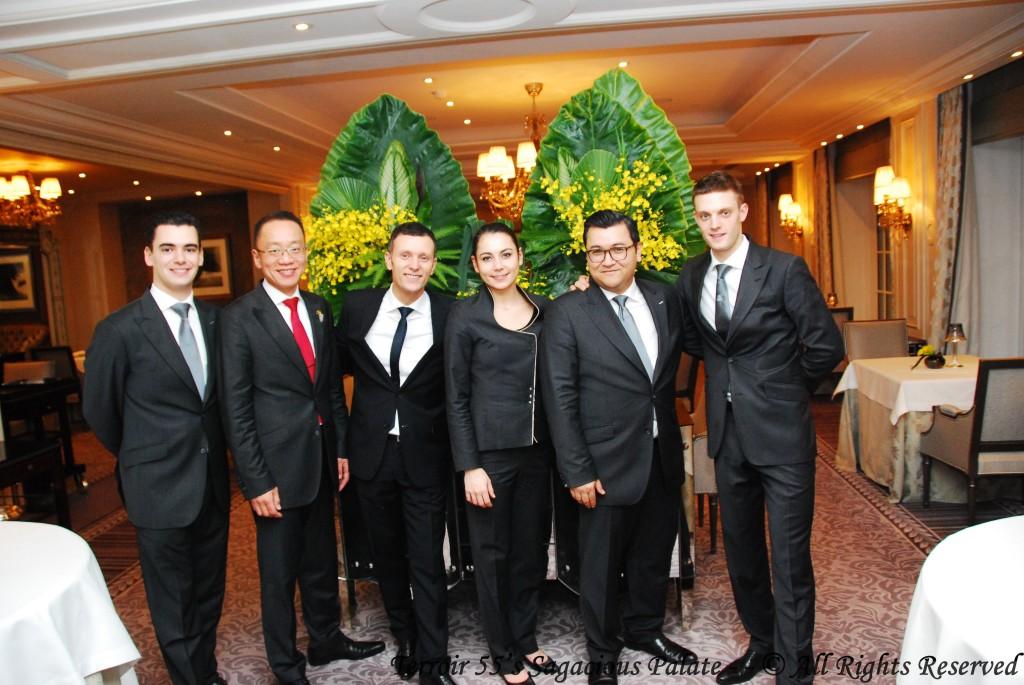 Auguste, Katsonori, Jean-François, Salomé, Alain and Maxime