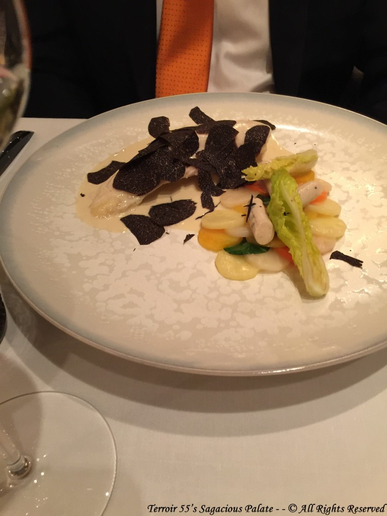 Bresse Chicken with Truffles