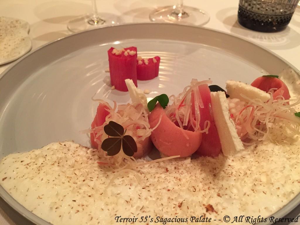 Dessert - Rhubarb