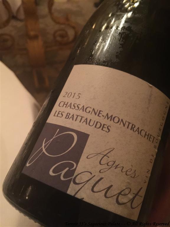 """Agnès Paquet - Chassagne-Montrachet """"Les Battaudes"""""""