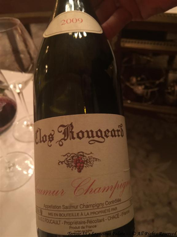 "2009 Clos Rougeard ""Saumur-Champigny"" Foucault"