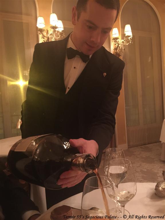 Chef Sommelier, Mr. Nicolas VIALETTES