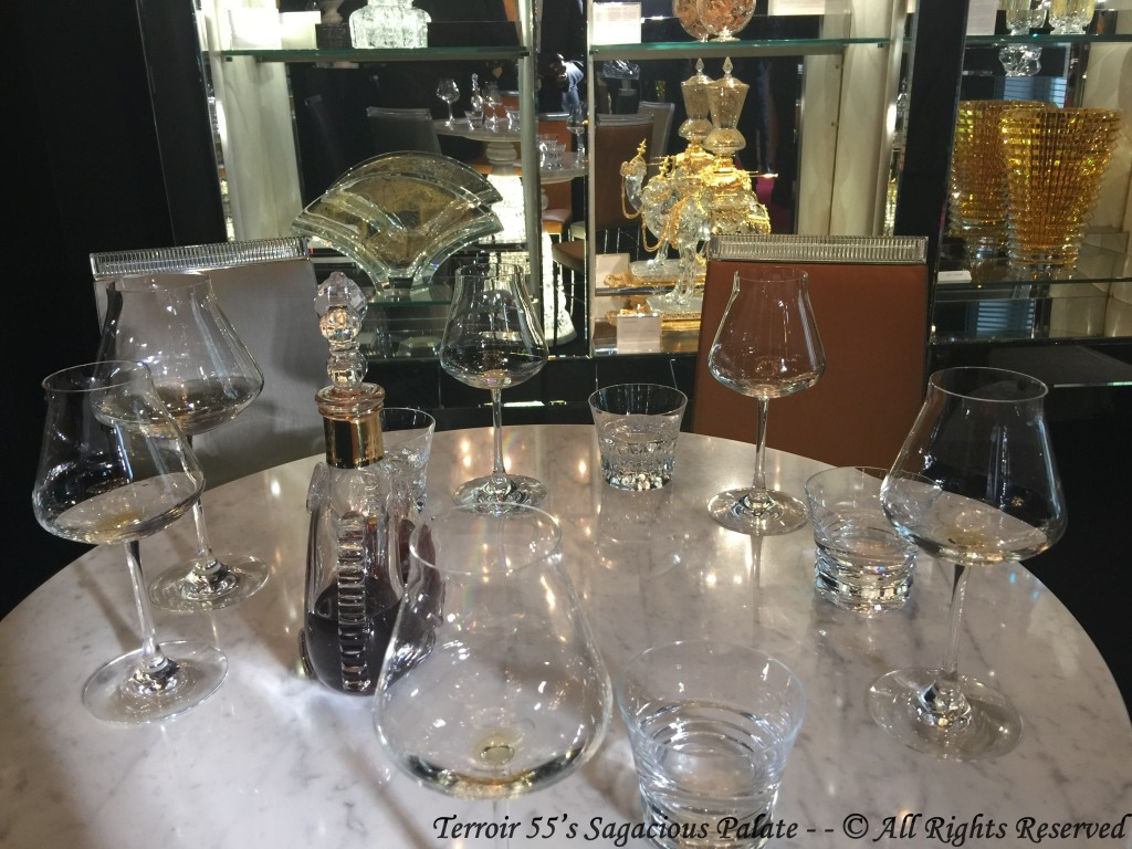 Louis XIII tasting at Musée Baccarat