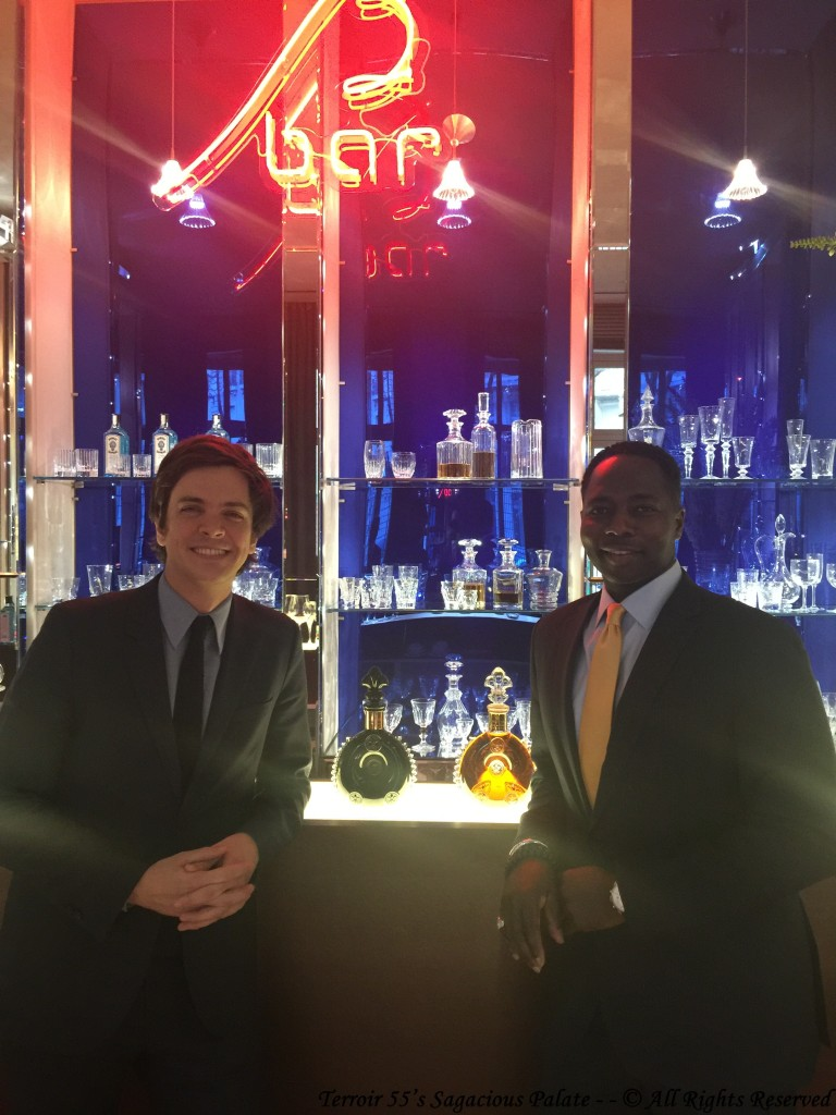 With Mr. Florian Heriard Dubreuil, Brand Ambassador for Louis XIII