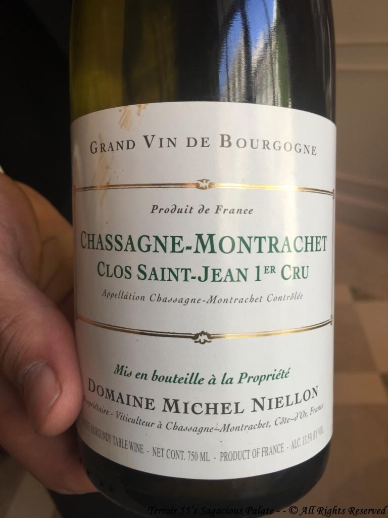 """2016 Domaine Michel Niellon - Chassagne-Montrachet """"Clos Saint-Jean 1er Cru"""""""