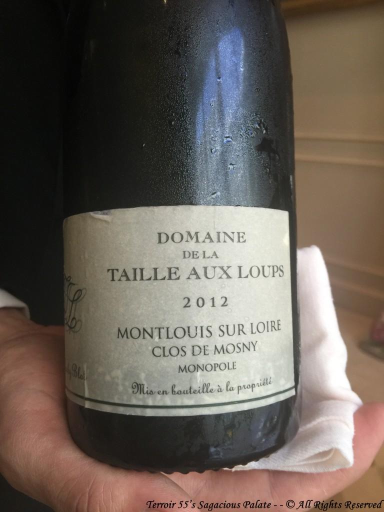 """2012 Domaine de la Taille Aux Loups """"Clos De Mosny"""" Monopole, Montlouis Sur Loire"""