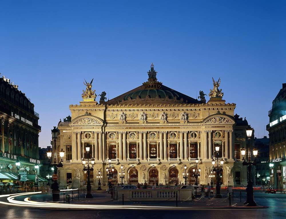 Palais Garnier - - © Jean-Pierre Delagarde / OnP